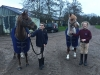 Josh, Urssie and the ponies, January 2016