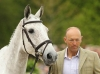 Bill Levett and  Silk Stone, Badminton 2014