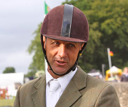 Bill at the Festival of British Eventing