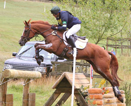Bella at the Festival of British Eventing