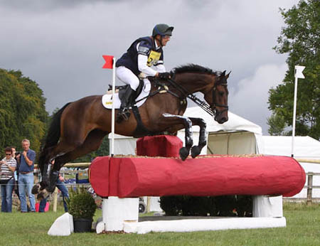 Harry at the Festival of British Eventing