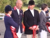 Pippa, Rodney, Bill and Francis at Hartpury