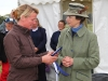 Ali Butler and HRH The Princess Royal: Photo Fiona Scott-Maxwell