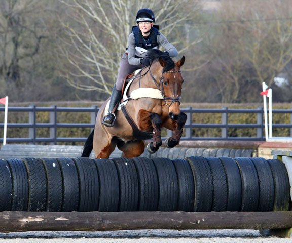 Jenny & Ricky, Arena Eventing Aston-le-Walls, February 2018