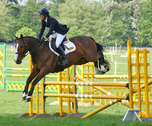 Polly Jackson Griffin & Shannondale Jedi, BYEH 5 Year Olds, Rockingham 2018