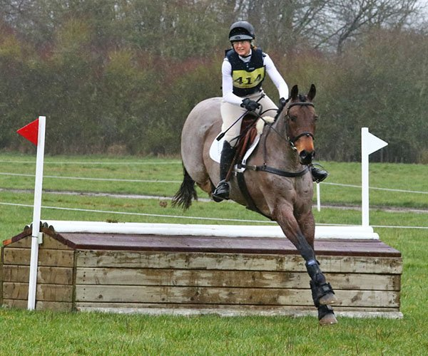 Jenny Levett and Athleet V, Aston, March 2019
