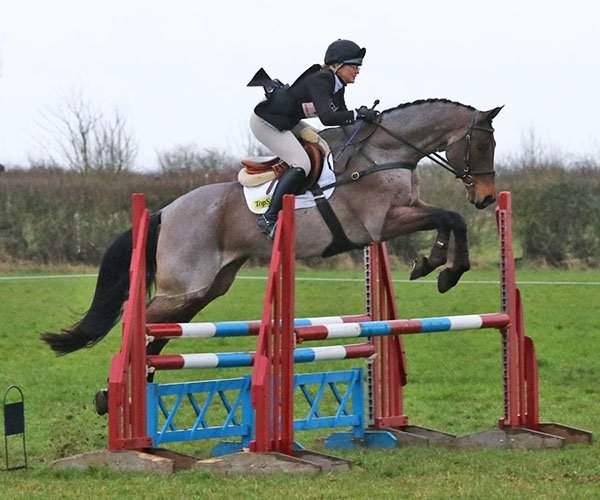 Jenny Levett and Athleet V, Oasby, March 2019