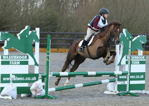 Josh & Charlie, Aston-le-Walls Arena Eventing, January 2016