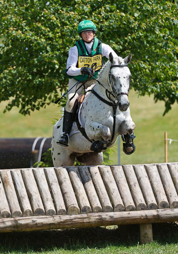 Jenny & Blue at Catton 2011