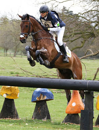 Bill Levett and Shannondale Titan, 2nd, Grantham Cup, Belton, April 2015