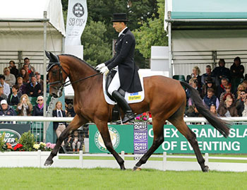 Bill Levett and Improvise, The Land Rover Burghley Horse Trials, September 2015